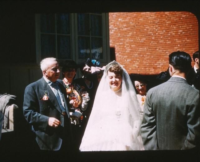 1947, mariage Ruth Starnes et Louis de Kinder