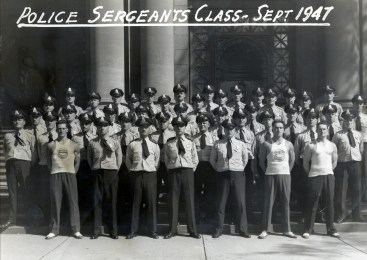 1947, the Montreal Police Sergeants class