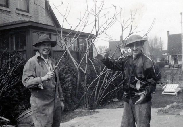 1948, Albert Thivierge et Johnny Sofio
