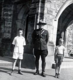 1950, Marc et Bobby à Ottawa