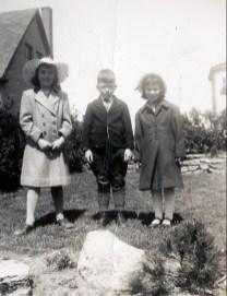 1950, Paulette, Marc et Irène