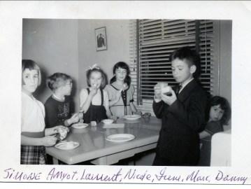 1950, Simone Amyot, Laurent Naubert, Nicole Bayard, Irène, Marc, Danny Naubert