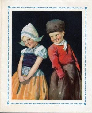1950, lettre de Mary Estelle - carte de souhaits