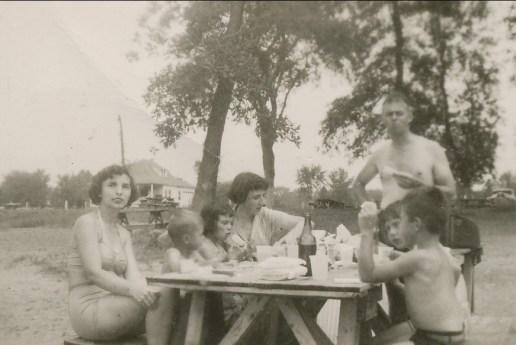1951, Gaby, Bobby, Irène, Henriette, Albert