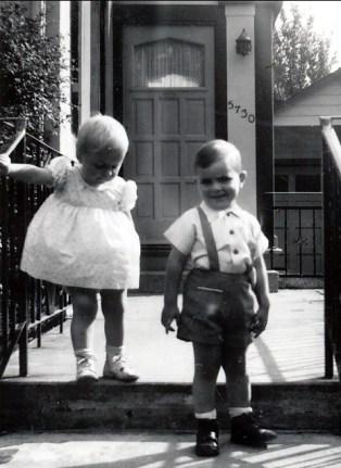 1957, Claire Thivierge et François Sofio