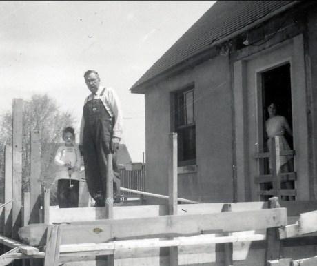 1957, Richard, Elzéar Fournier et Irène