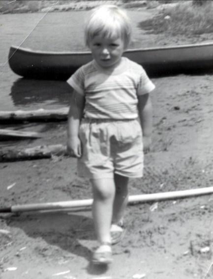 1958, Claire au lac Croche