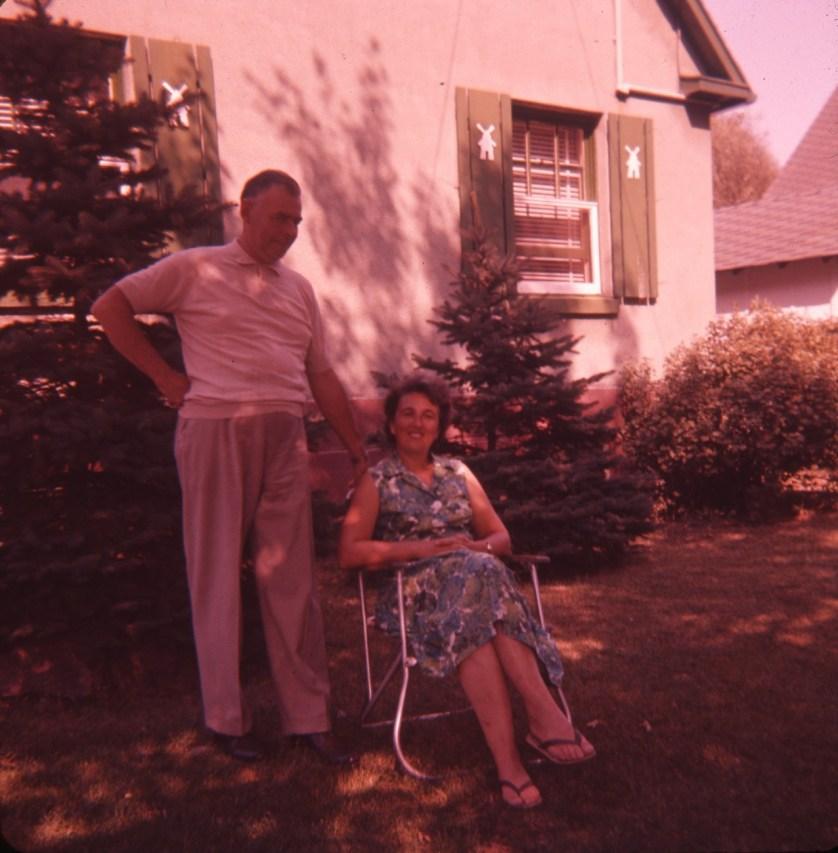 1959, Albert et Henriette av des Plaines