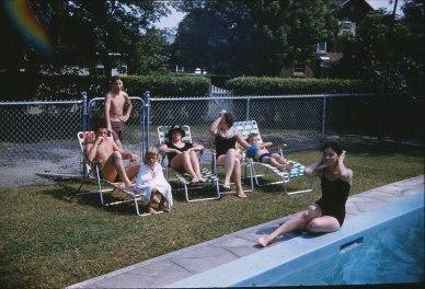 1959, Famille piscine
