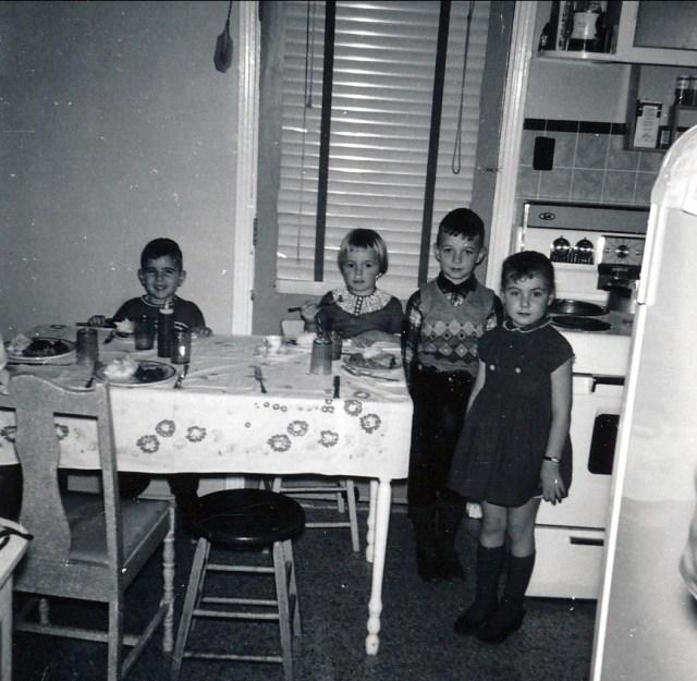 1959, François Sofio, Claire et Richard Thivierge, Johanne de Lamirande