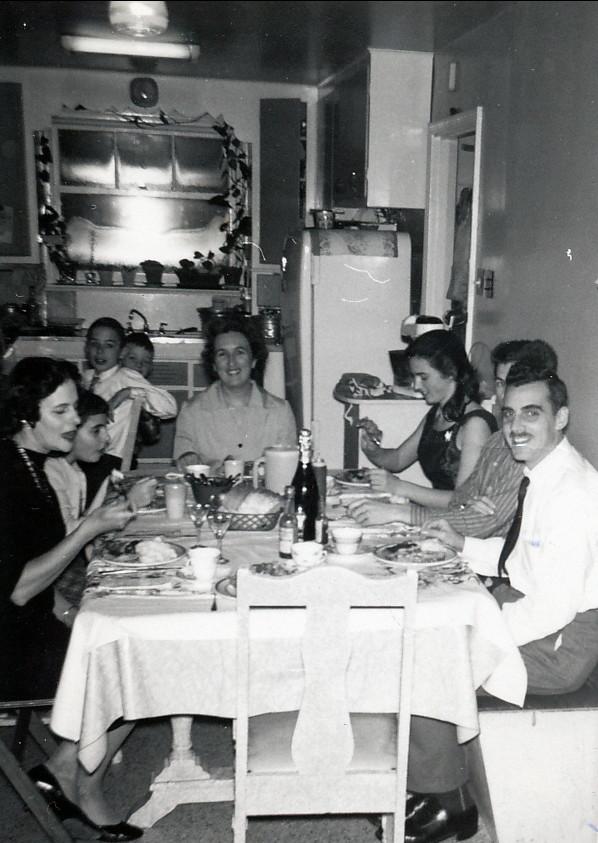 1959, 1er janvier av des Plaines, familles Thivierge et Sofio