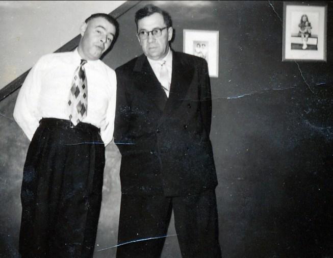1960, Albert Thivierge avec Elzéar Fournier