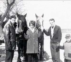 1961, Marc, Glenna Gaudreau, Luc Laporte, Richard