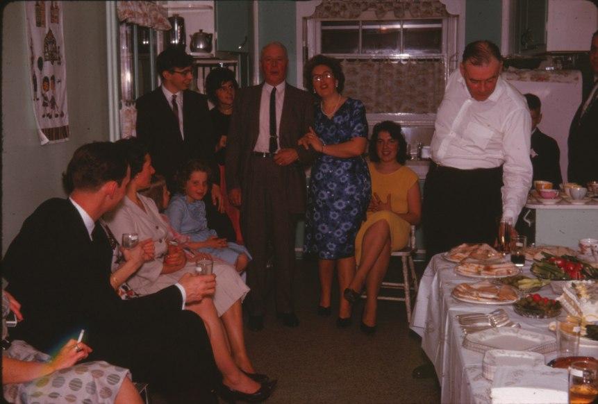 1962, Guy Beausoleil, Anna, Gigi, Bobby, Hélèna, Horace, Henriette, Paulette et Albert