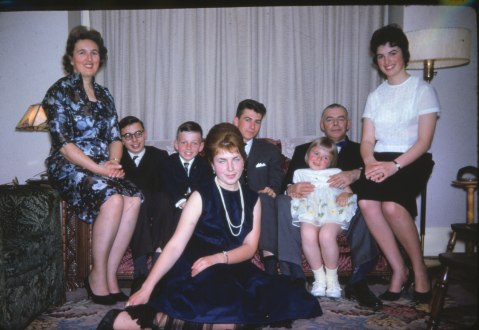 1962, avril, famille Thivierge