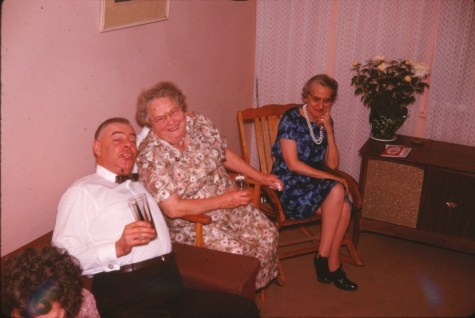 1963, Albert Thivierge, Cecilia Rochford et Antoinette Bergeron