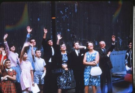 1963, départ de Bobby et Irène