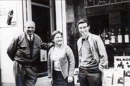 1964, Bobby au Cap Ferrat avec les Marinthe
