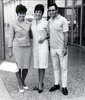 1964, Dragana, Irène et Yvan Samodol