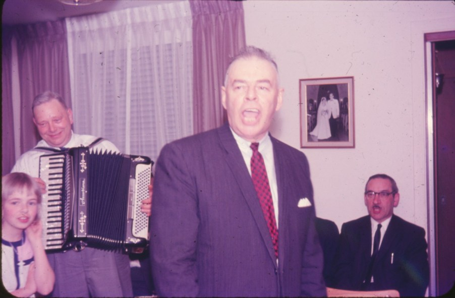 1965, Frank George, Albert et Jean-Paul Naubert