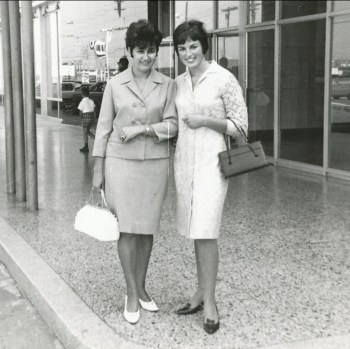 1966, 23 août - Dragana Samodol et Irène à Toronto