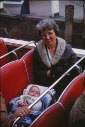 1966, Henriette et Arie en Hollande