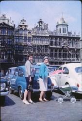 1966, Paulette et Henriette à Bruxelles