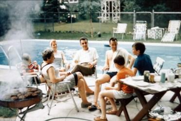 1967, Henriette, Laurette, Johnny, Lorne Earl, Richard à droite
