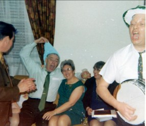 1969, 21 mars - Albert, Henriette, Janette et Frank George