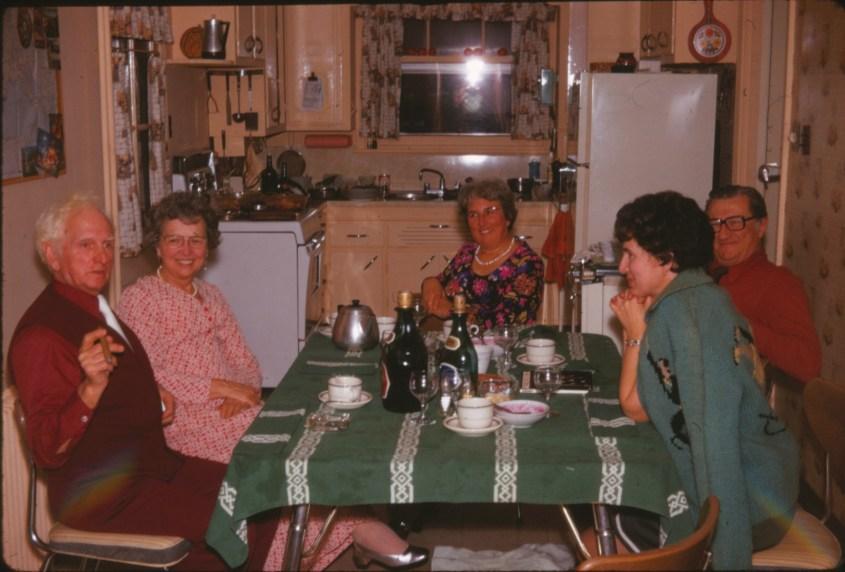 1972, approx - Polydor, Germaine, Henriette, Lucien et Gaby