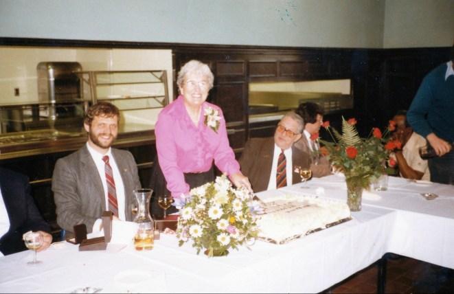 1984, Henriette - départ travail avec Adje