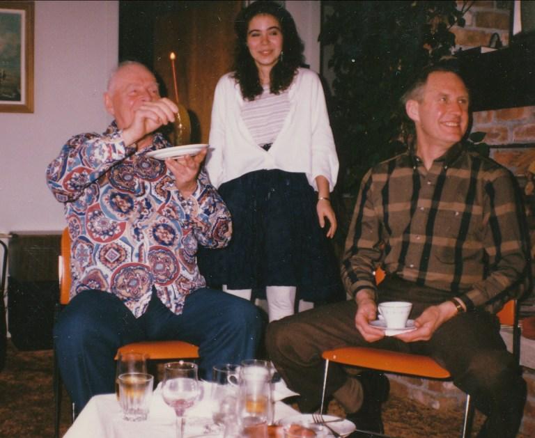 1988, 75e Albert et Marie-Jo Thivierge, Johnny Hughes