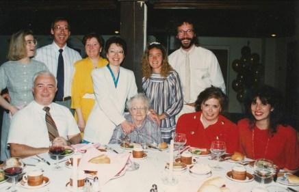 1990, 50 familles Naubert et Comtois