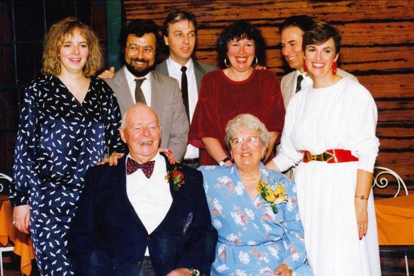 1990, 50e anniversaire mariage