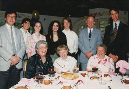 1990, 50e familles George, Thivierge, etc.