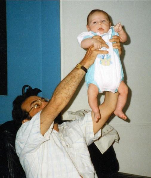 1993, Bobby avec Nicolas