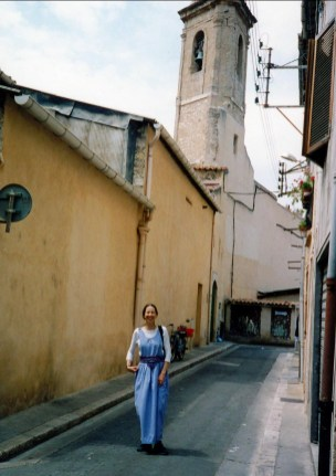 1994, Anne à Aubagne