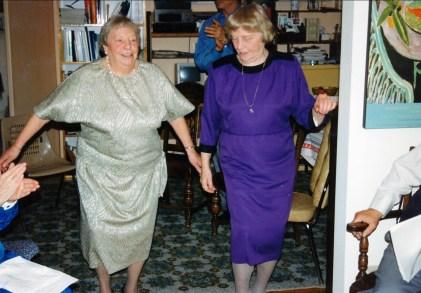 1994, juin Myrtle et Anna