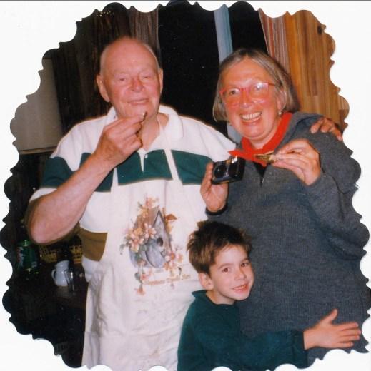 1998, Albert, Paulette et Hubert