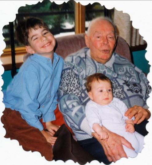 1998, Hubert, Albert et Bastien
