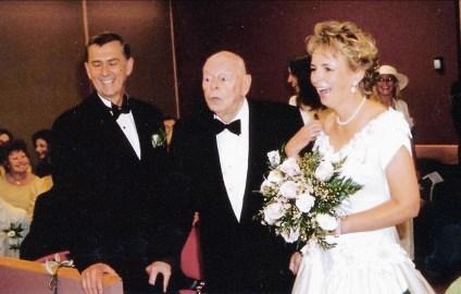 2003, Albert au mariage de Claire et Pierre