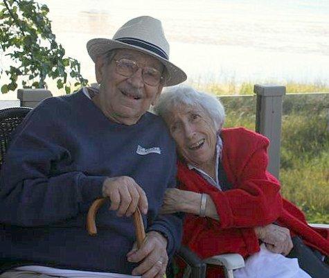 2009, en amour jusqu_à la toute fin - Jean-Paul et Jeanne Naubert
