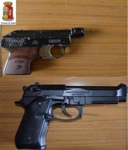 pistole sequestrate