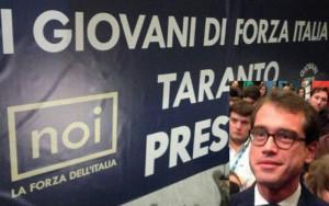 Striscione Taranto e Salvatore Perillo