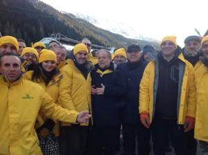 Mobilitazione 2013_La Delegazione pugliese al Brennero