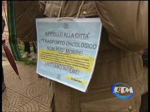 Sit-in per operatori trasporto oncologico 2