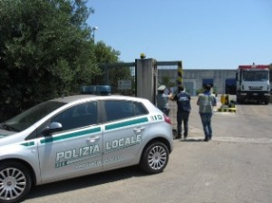sequestro discarica polizia prov.