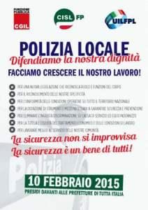 Volantino Polizia Locale unitario
