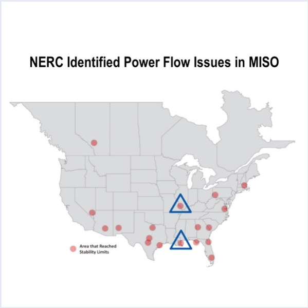 MISO NERC natural gas