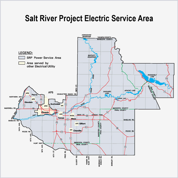 salt river project electric Dams, lakes & rivers water management & engineering lake levels community community giving  residential electric: (602) 236-8888 business electric: (602) 236.